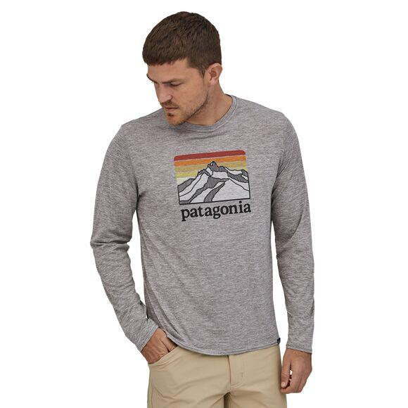 Patagonia - Long-Sleeved Capilene® Cool Daily Graphic Shirt - Recycled Polyester - Weekendbee - sustainable sportswear