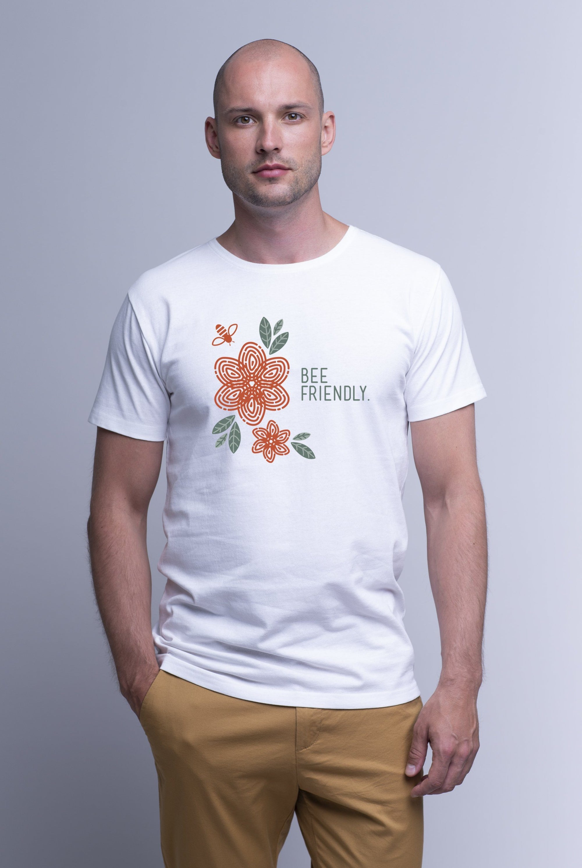 Weekendbee - Men's Bee Friendly - Charity T-Shirt - Weekendbee - sustainable sportswear