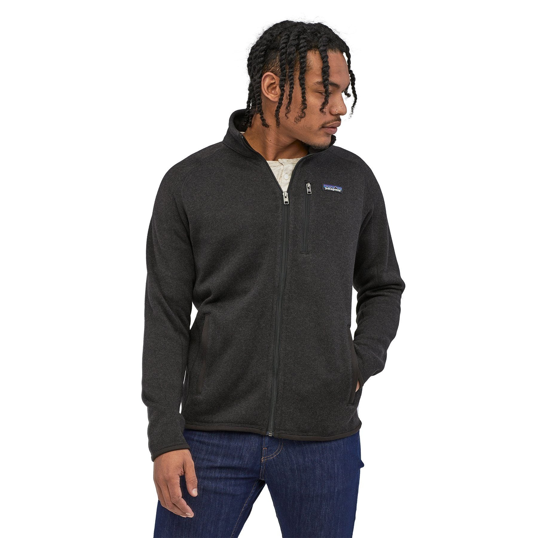Patagonia - M's Better Sweater® Fleece Jacket  - 100 % recycled polyester - Weekendbee - sustainable sportswear
