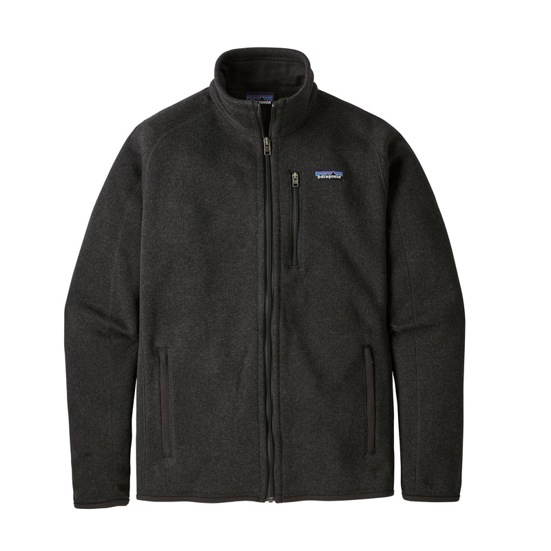 Patagonia - Men's Better Sweater® Fleece Jacket - Black - 100 % recycled polyester - Weekendbee - sustainable sportswear