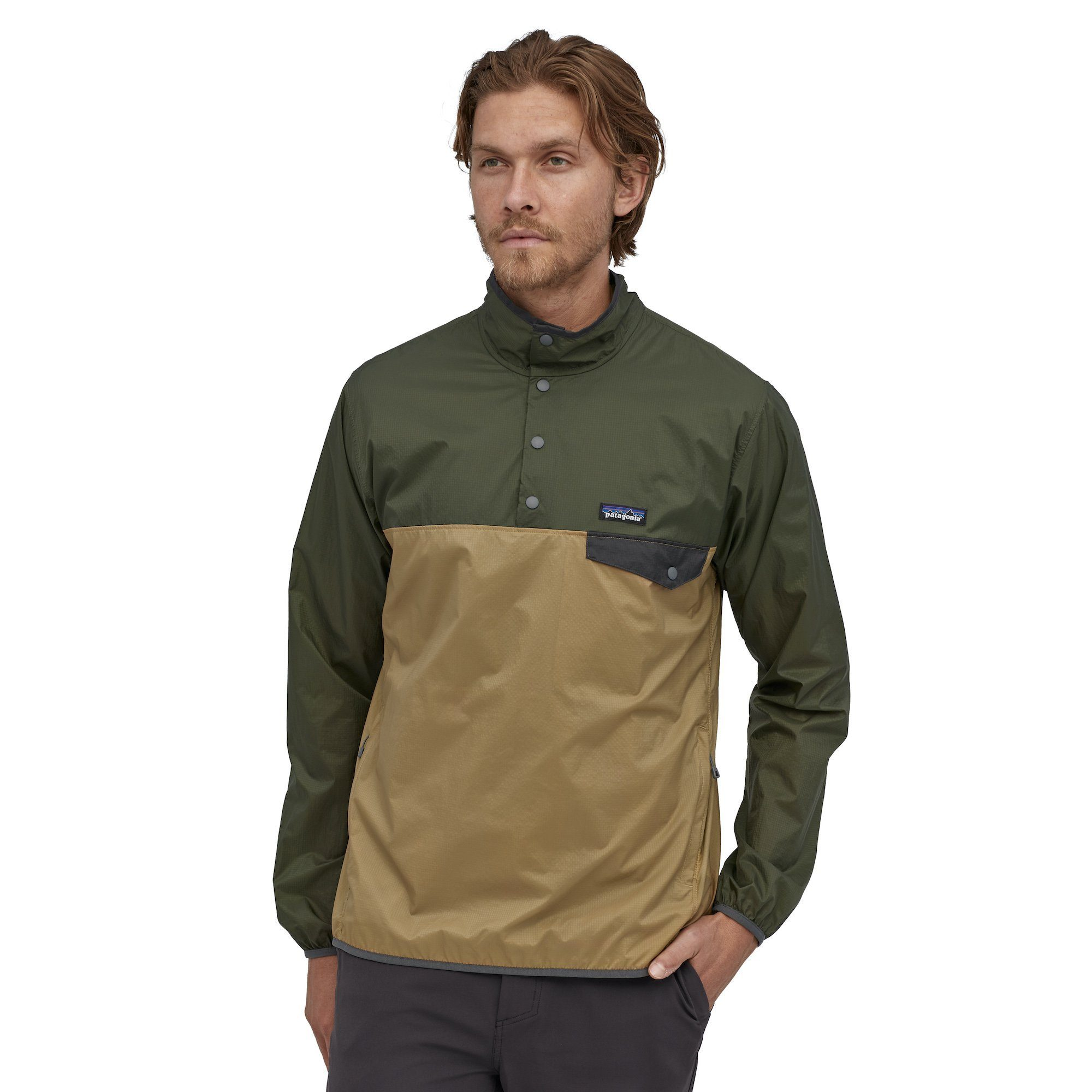 Patagonia - Houdini® Snap-T® Pullover - 100% recycled nylon - Weekendbee - sustainable sportswear
