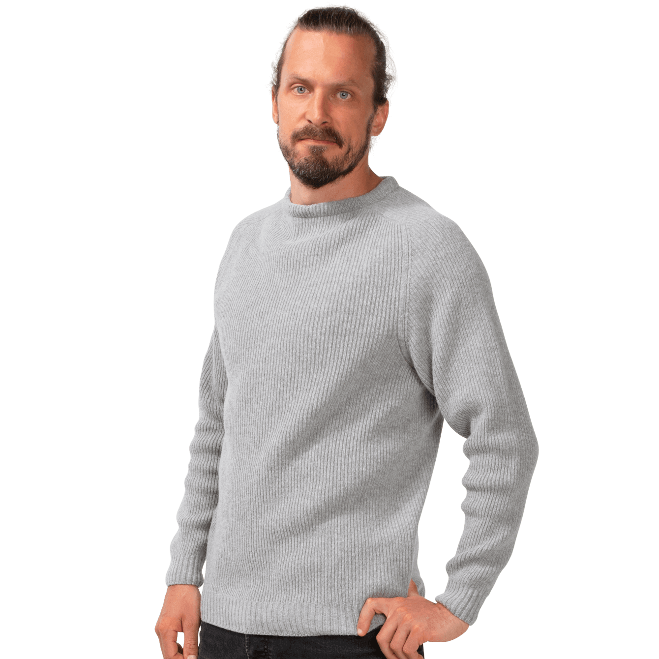 North Outdoor - Men's KASKI Sweater - 100 % Merino Wool - Made in Finland - Weekendbee - sustainable sportswear