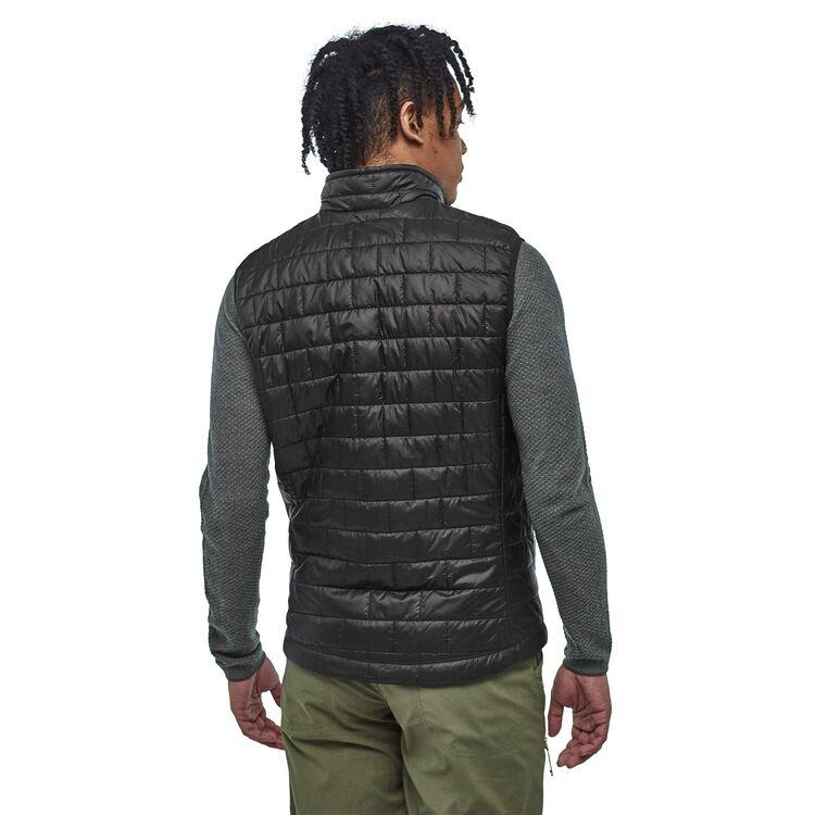 Patagonia - Men's Nano Puff Vest - Black - Recycled polyester - Weekendbee - sustainable sportswear