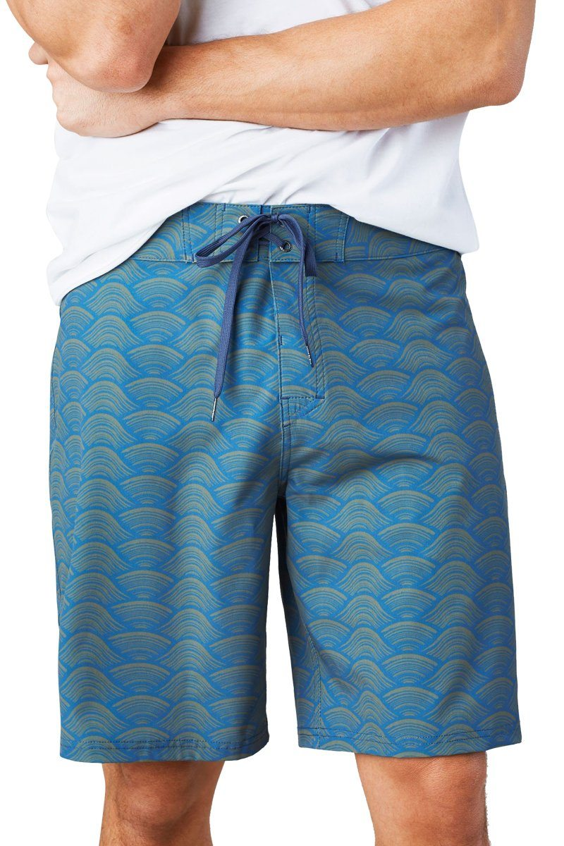 United By Blue - Men's Riptide Performance Board Short - Recycled Polyester - Weekendbee - sustainable sportswear