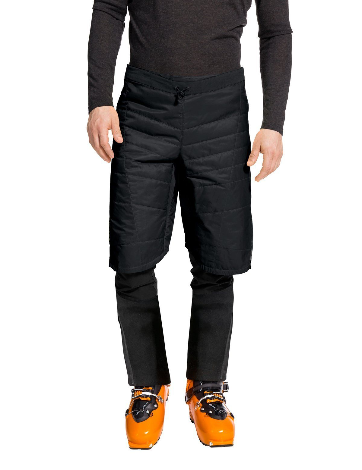Vaude - Men's Sesvenna Shorts II - Black - Polyamide - Weekendbee - sustainable sportswear