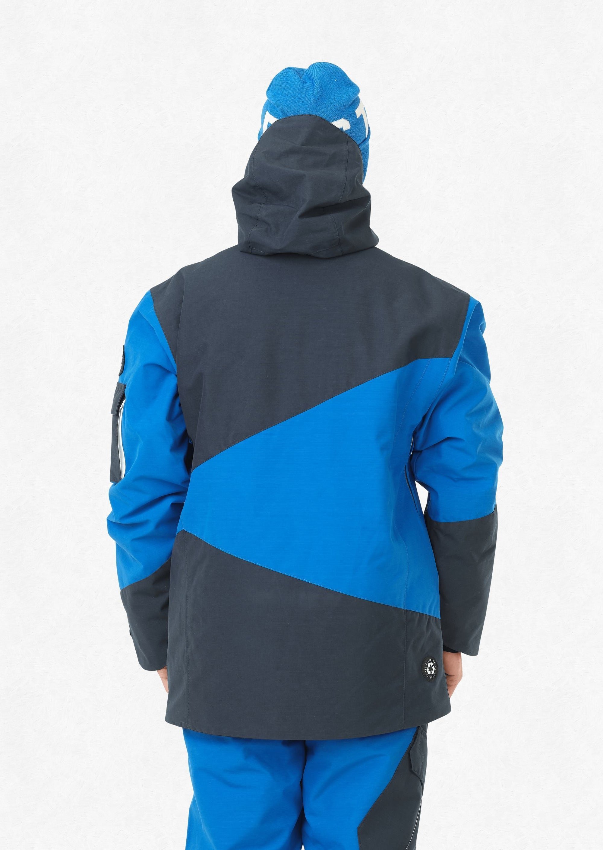 Picture Organic - Men's Styler Jacket - Blue - Recycled Polyester - Weekendbee - sustainable sportswear