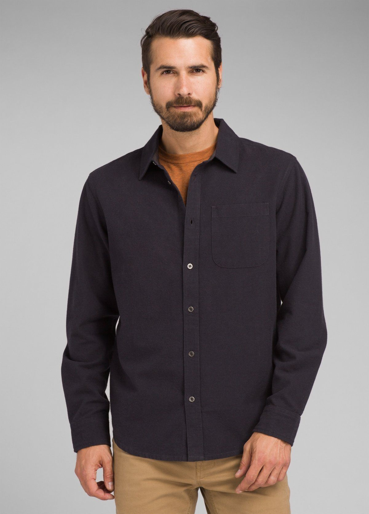 PrAna - Men's Woodman Midweight Flannel - Organic Cotton - Weekendbee - sustainable sportswear