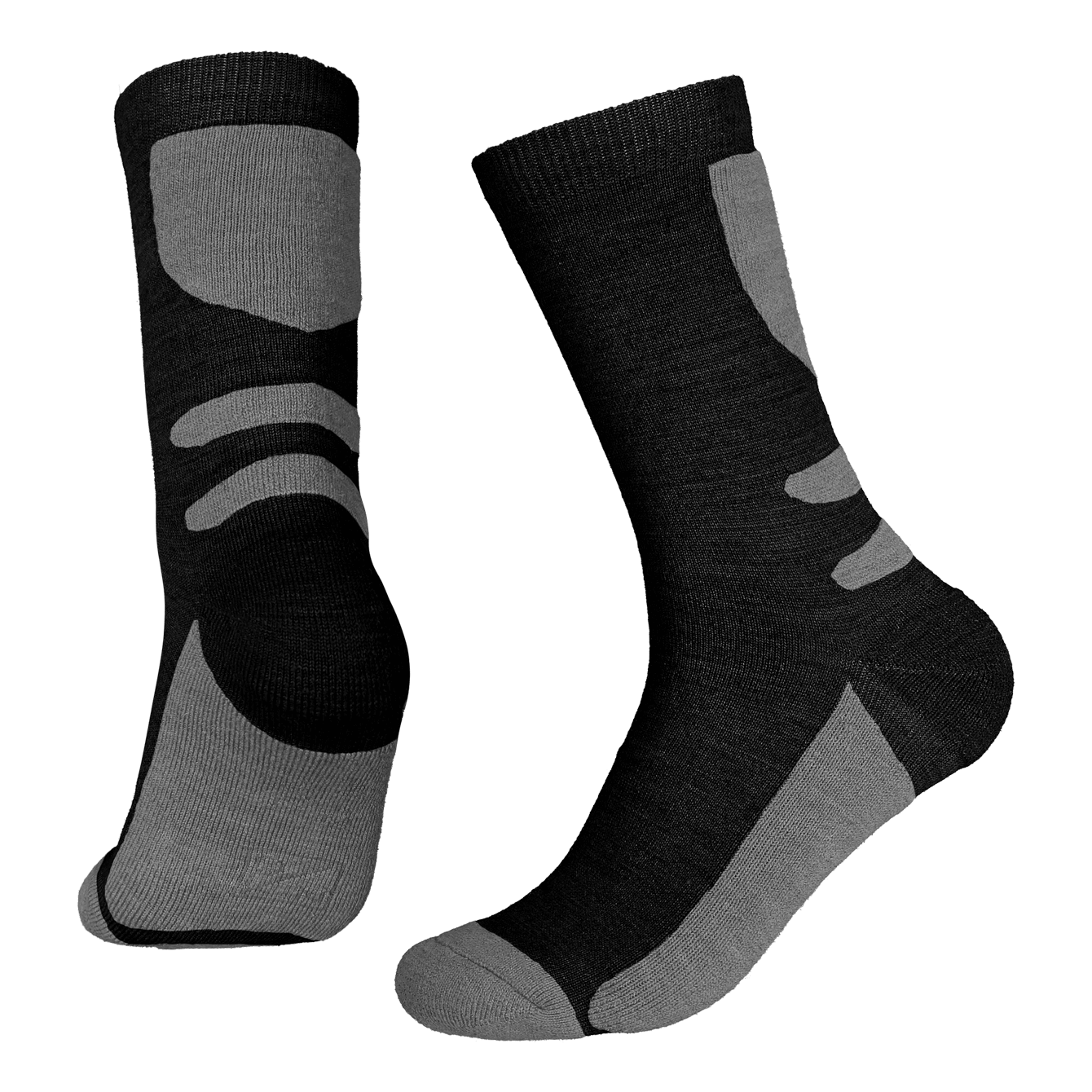 North Outdoor - Merino 70 Pro Socks Basics - Weekendbee - sustainable sportswear
