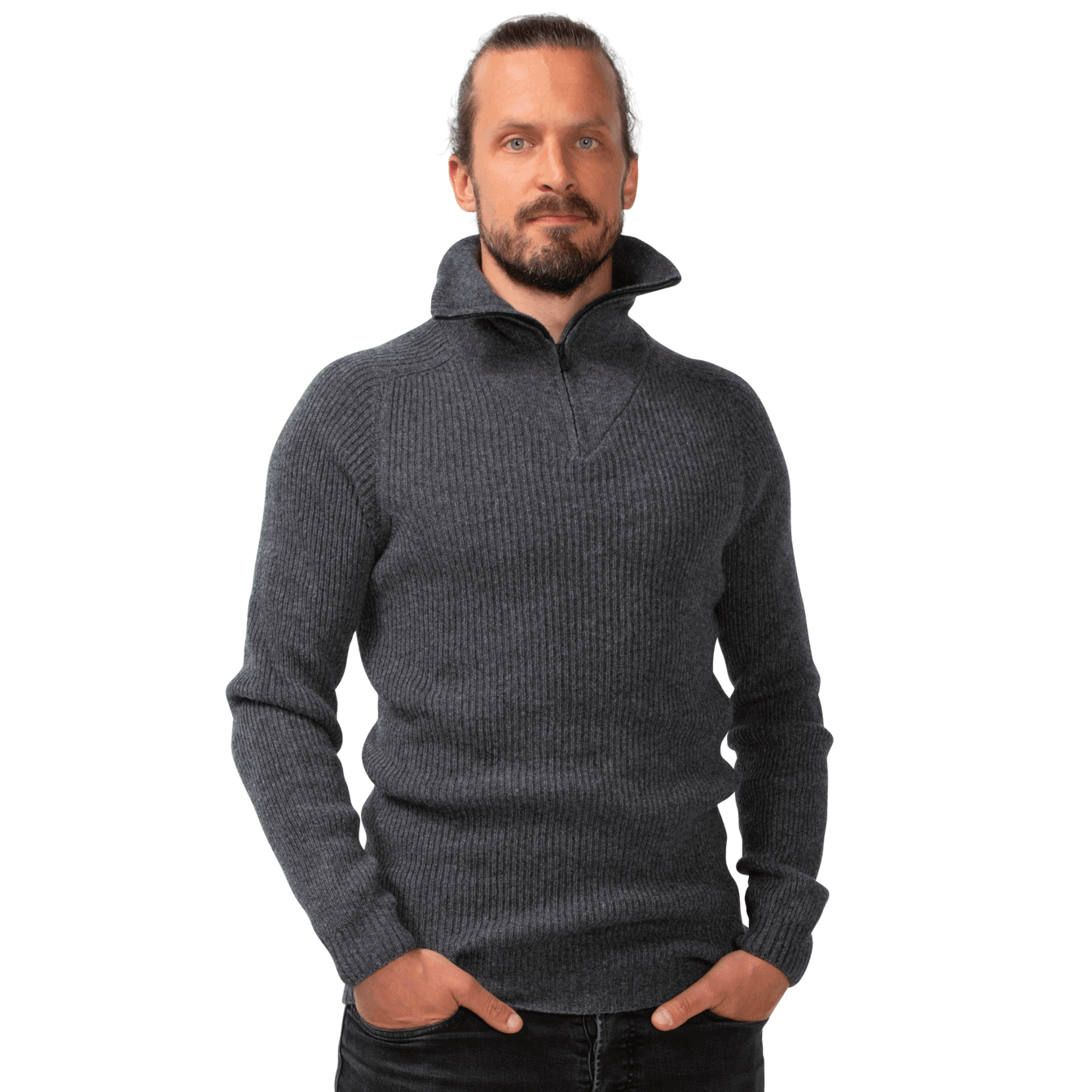 North Outdoor - Men's Metso Sweater - 100 % Merino Wool - Made in Finland - Weekendbee - sustainable sportswear