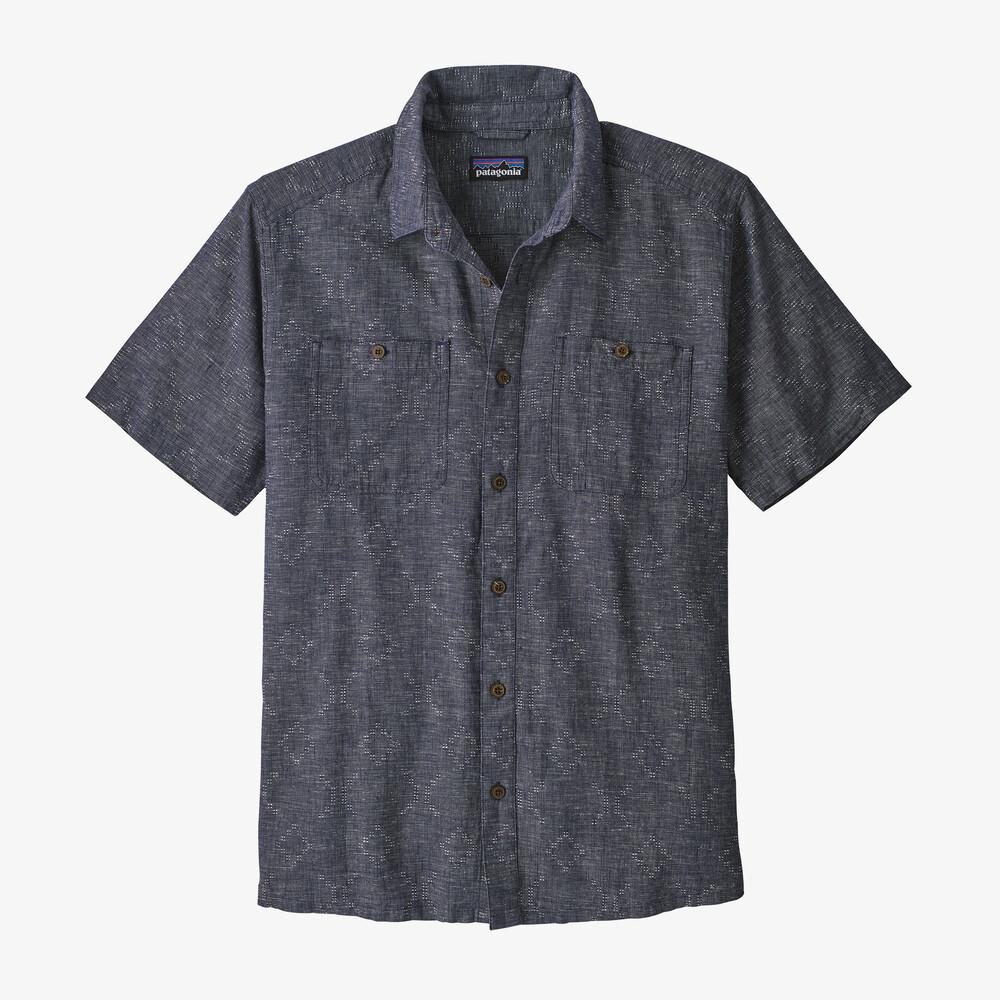 Patagonia - M's Back Step Shirt - Hemp and Cotton - Weekendbee - sustainable sportswear