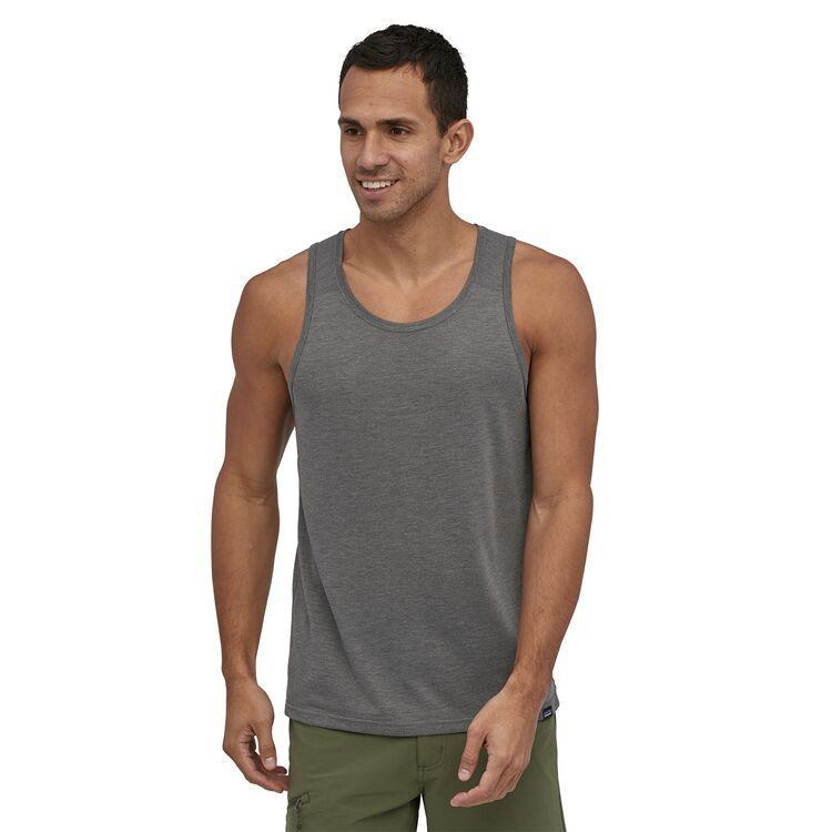 Patagonia - M's Capilene® Cool Trail Tank Top - Recycled Polyester - Weekendbee - sustainable sportswear