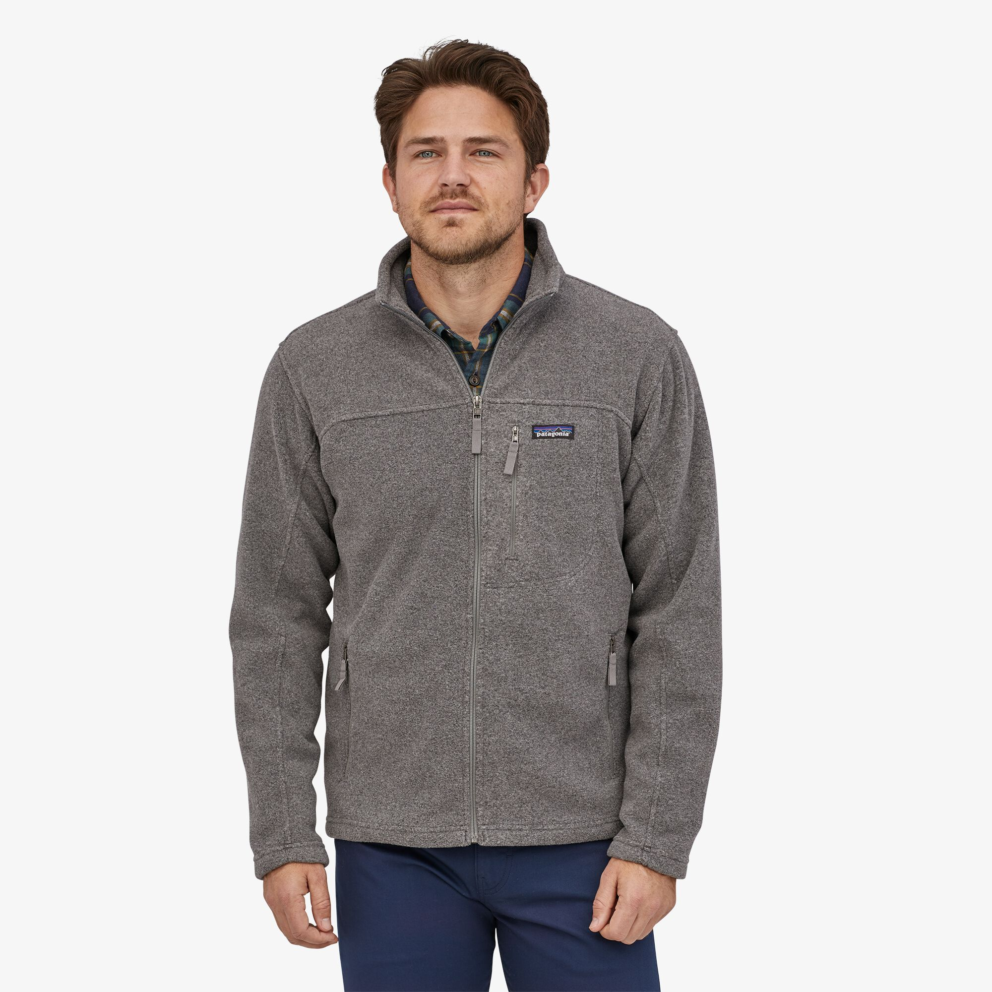 Patagonia - M's Classic Synchilla Fleece Jacket - Weekendbee - sustainable sportswear