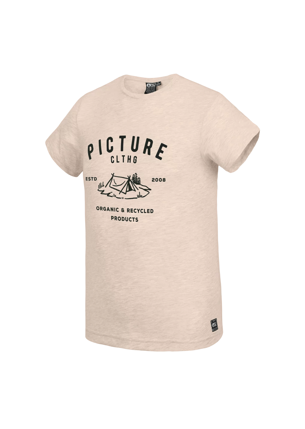 Picture Organic - M's Eugene Tee - Organic Cotton - Weekendbee - sustainable sportswear