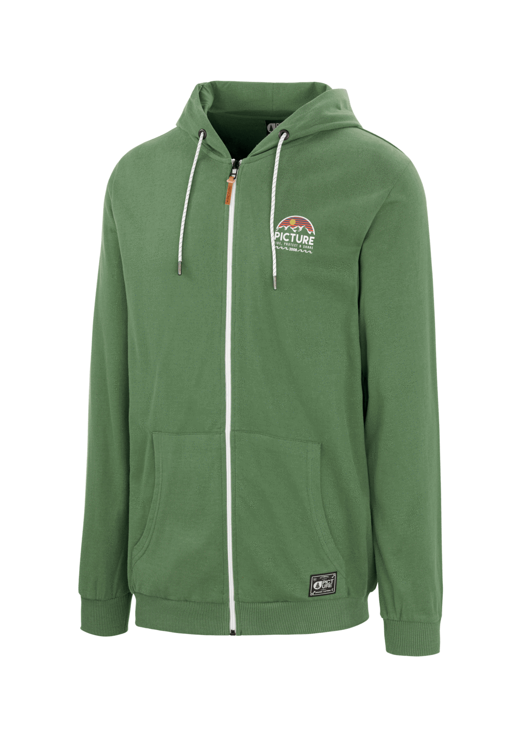 Picture Organic - M's Hamilton Zip Hoodie - Organic Cotton - Weekendbee - sustainable sportswear