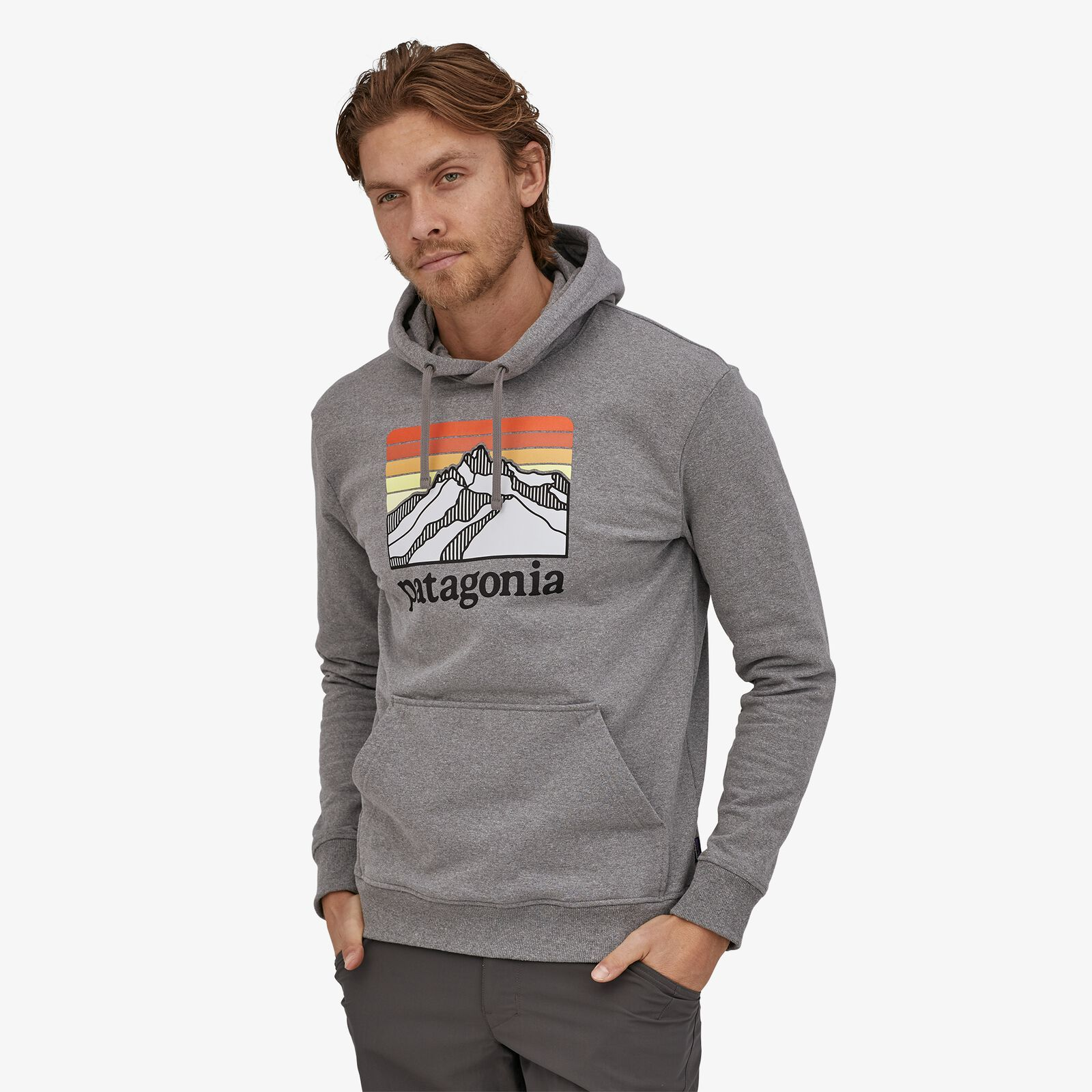 Patagonia - M's Line Logo Ridge Uprisal Hoody - Weekendbee - sustainable sportswear