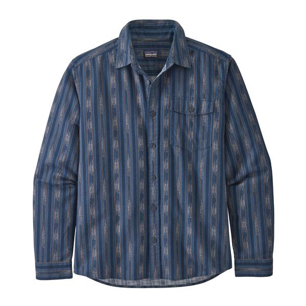 Patagonia - M's Long-Sleeved Lightweight Fjord Flannel Shirt - 100% organic cotton - Weekendbee - sustainable sportswear