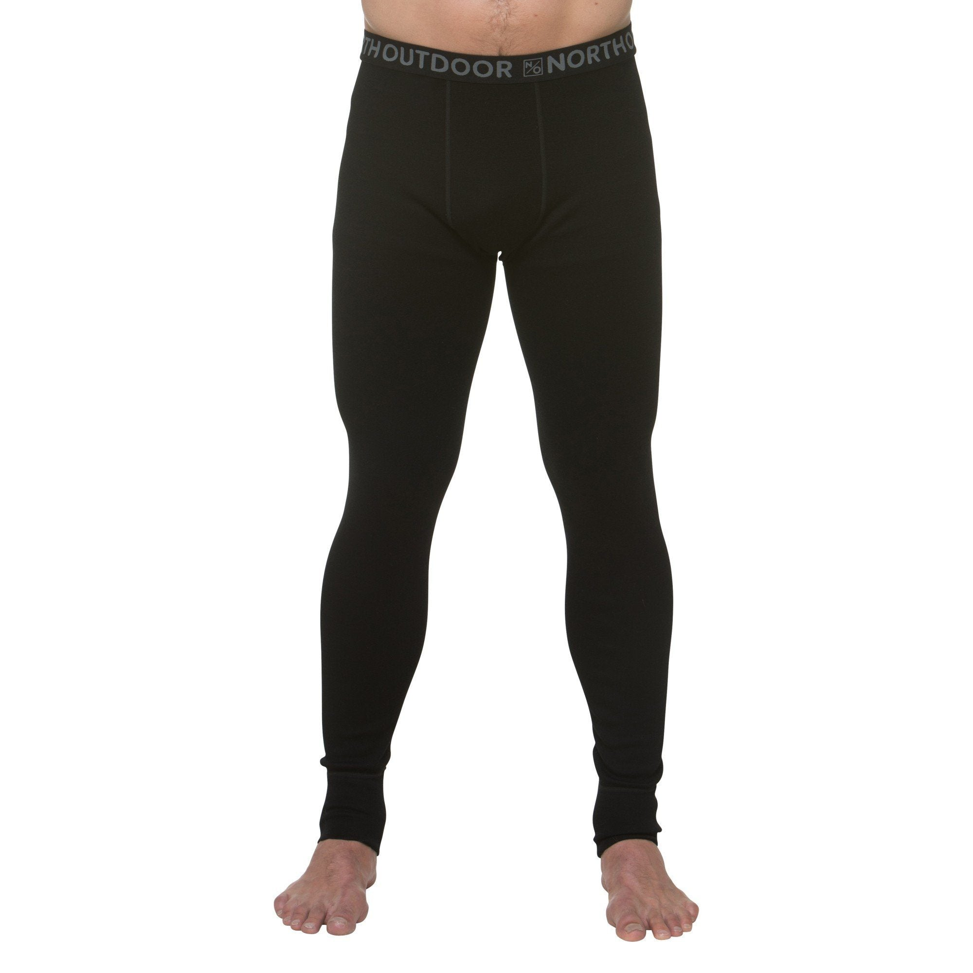 North Outdoor - M's mid-layer pants - 100 % merino wool ARCTIC 260 - Weekendbee - sustainable sportswear