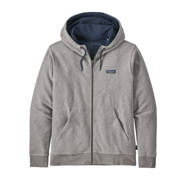 Patagonia - M's P-6 Label French Terry Full-Zip Hoody - Weekendbee - sustainable sportswear