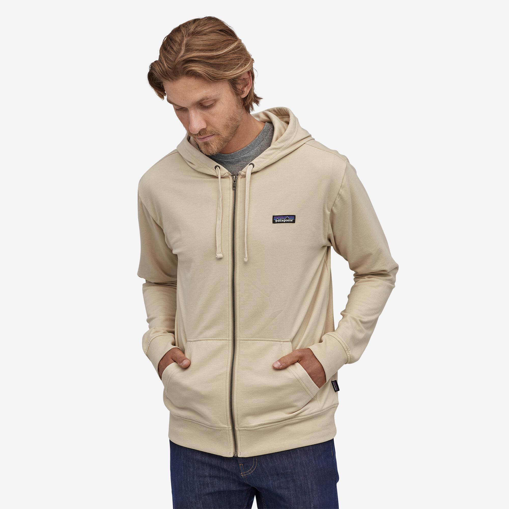 Patagonia - M's P-6 Label Lightweight Full-Zip Hoody - Weekendbee - sustainable sportswear