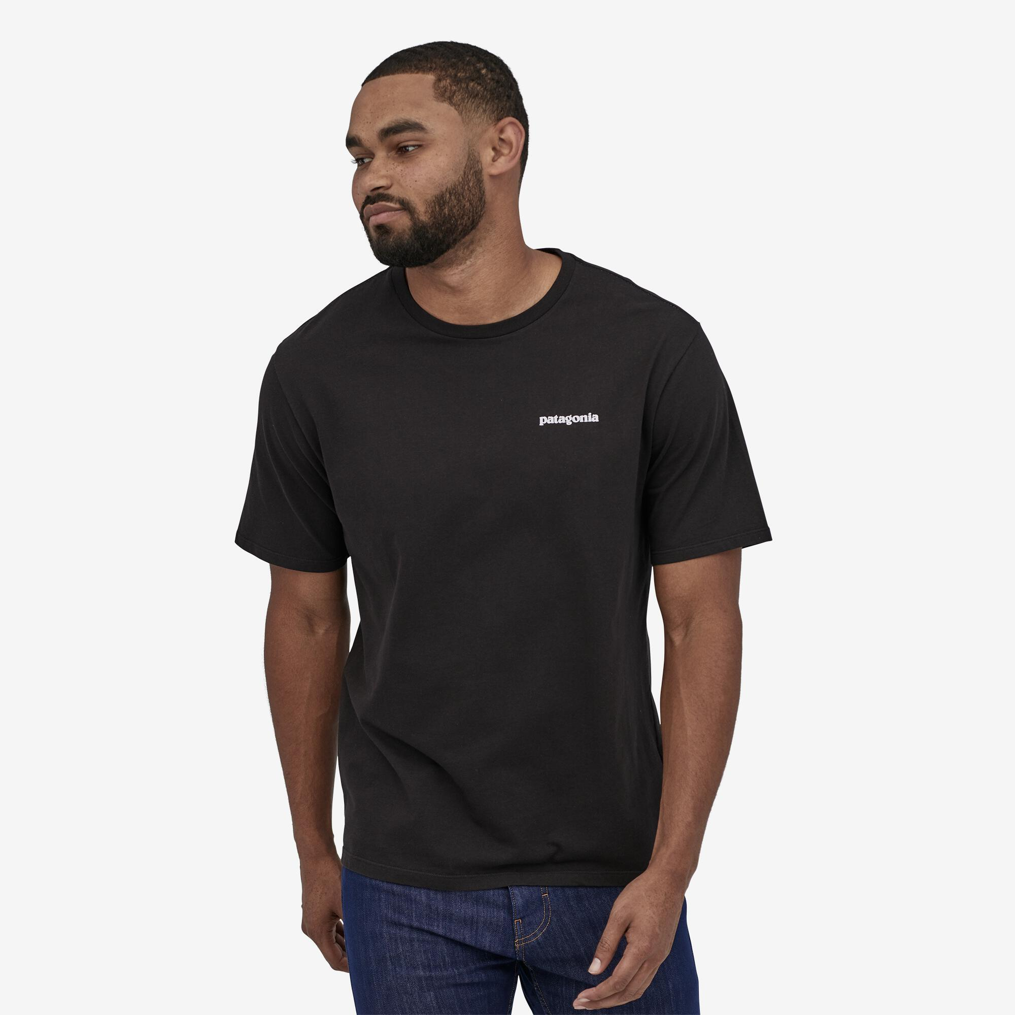 Patagonia - M's P-6 Logo T-Shirt - Organic Cotton - Weekendbee - sustainable sportswear