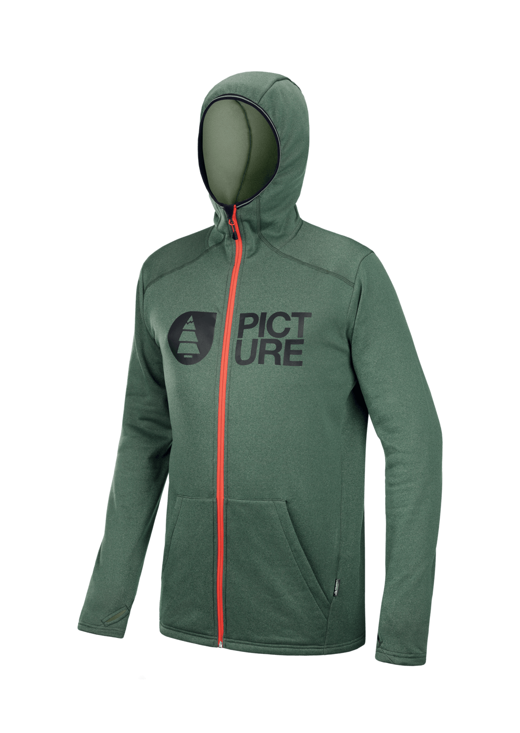 Picture Organic - M's Rony Zip Tech Hoodie - Recycled Polyester - Weekendbee - sustainable sportswear