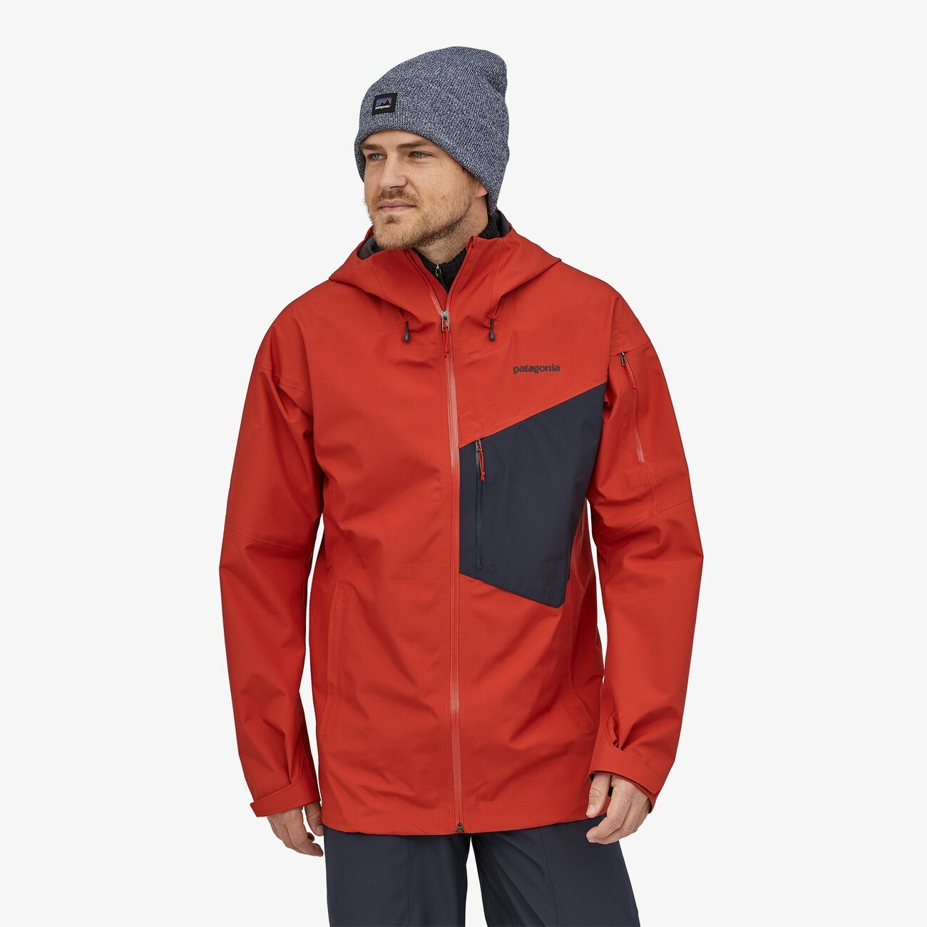 Patagonia - M's Snowdrifter Jkt - Recycled Polyester - Weekendbee - sustainable sportswear
