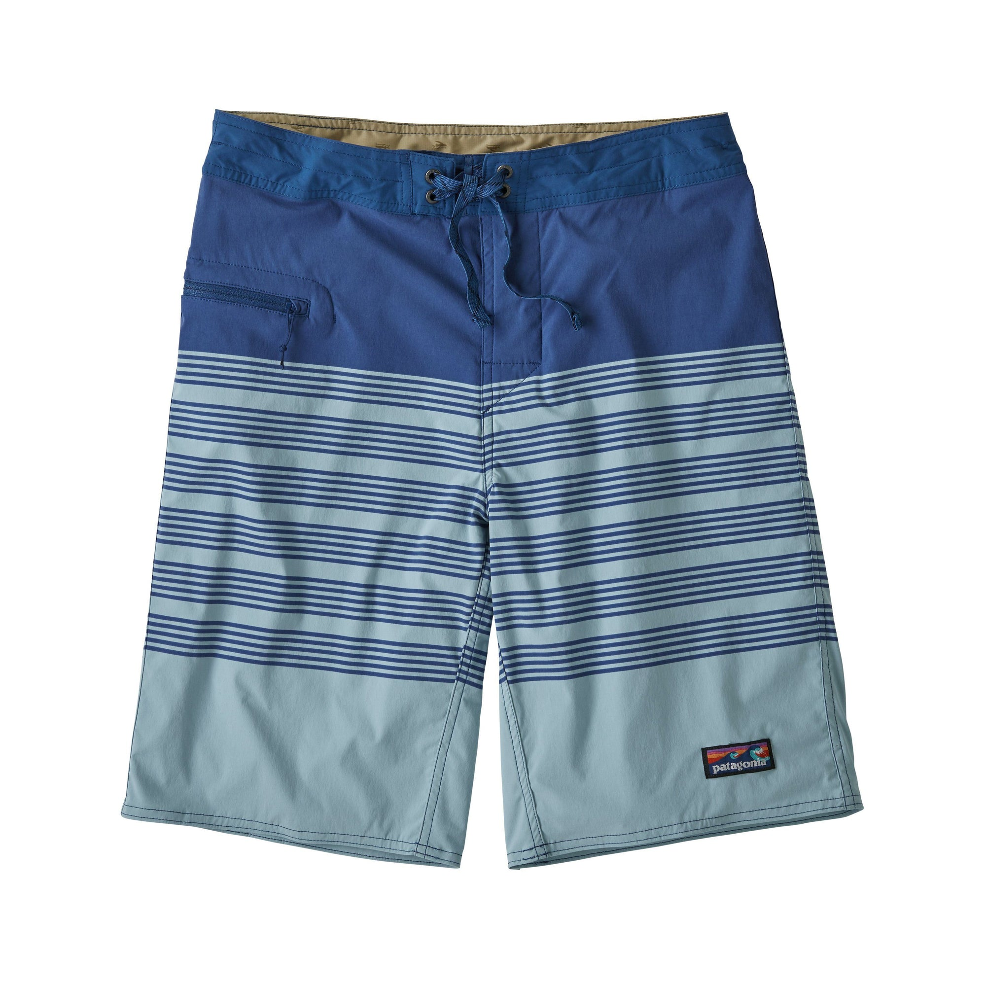 Patagonia - M's Stretch Wavefarer® Boardshorts - 53 cm outseam -  Recycled Nylon - Weekendbee - sustainable sportswear