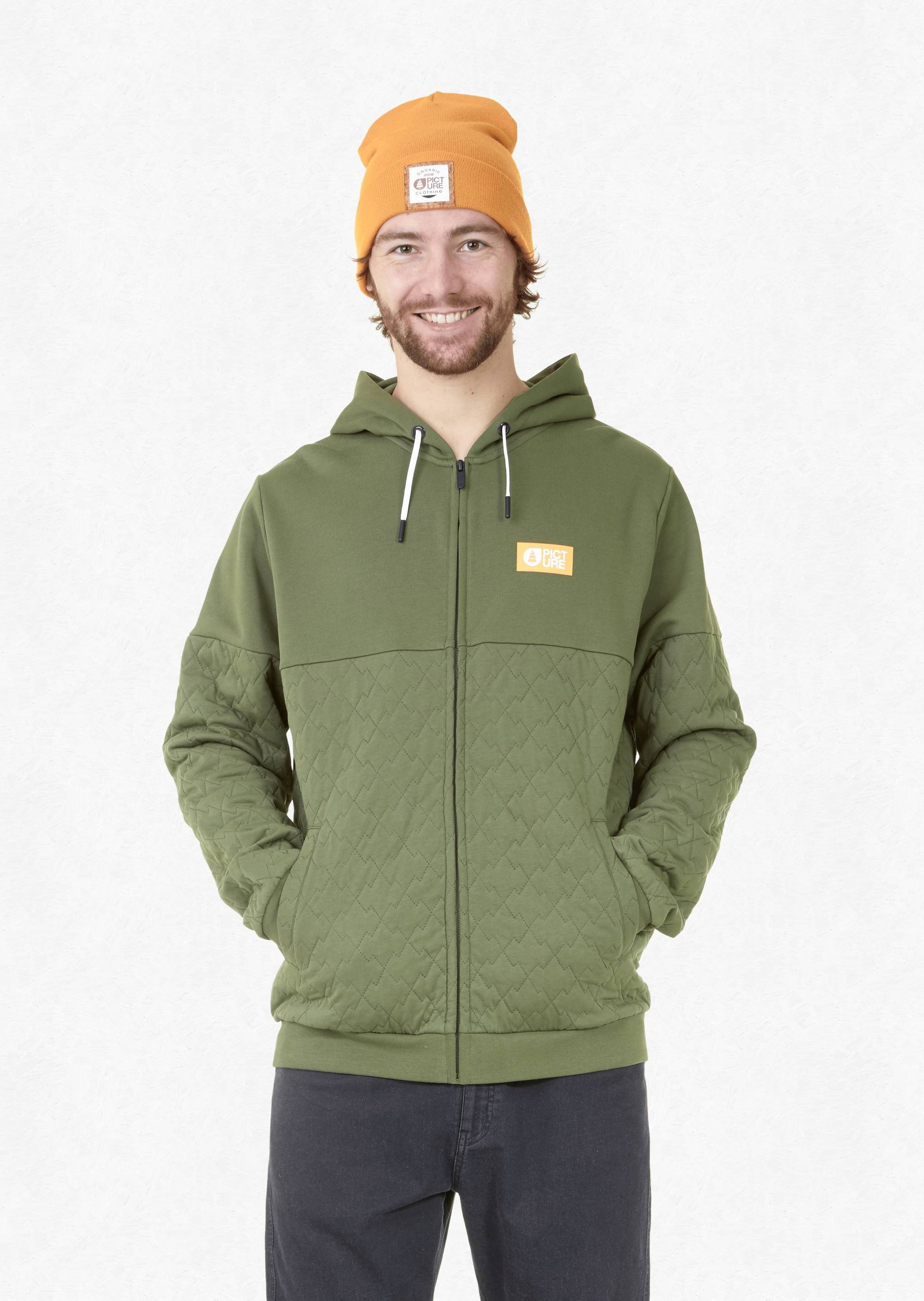 Picture Organic - M's Telkwa Zip Hoodie - Weekendbee - sustainable sportswear