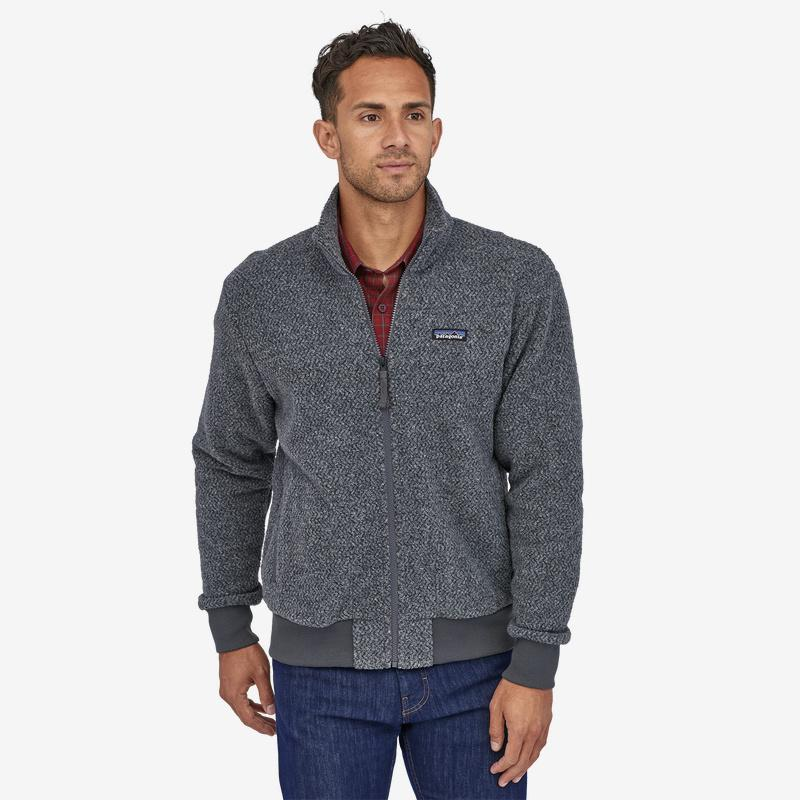 Patagonia - M's Woolyester Fleece Jkt - Weekendbee - sustainable sportswear