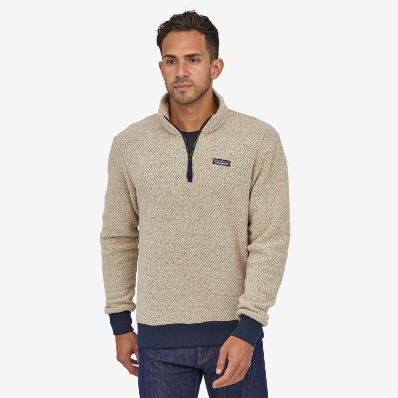 Patagonia - M's Woolyester Fleece P/O - Weekendbee - sustainable sportswear