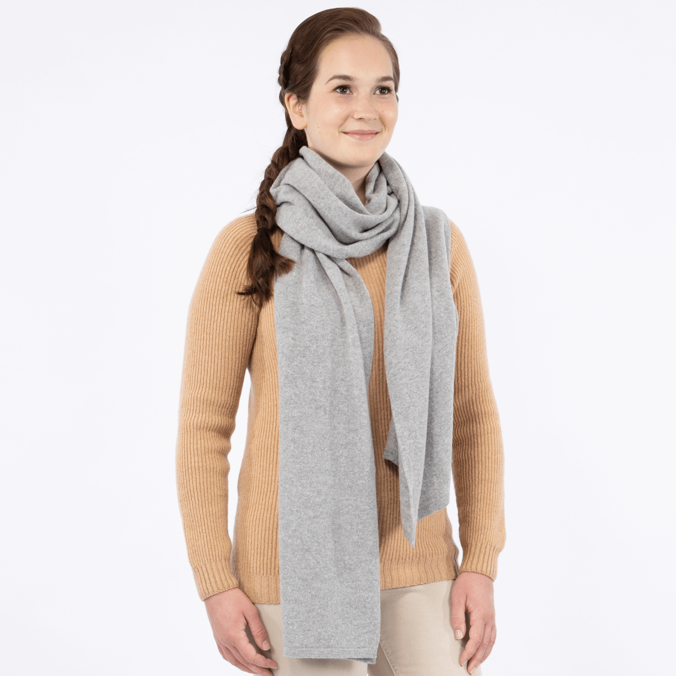North Outdoor - NILA Scarf - 100 % Merino Wool - Made in Finland - Weekendbee - sustainable sportswear