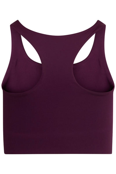Girlfriend Collective - Paloma Cropped Sports Bra -  Made from recycled water bottles - Weekendbee - sustainable sportswear