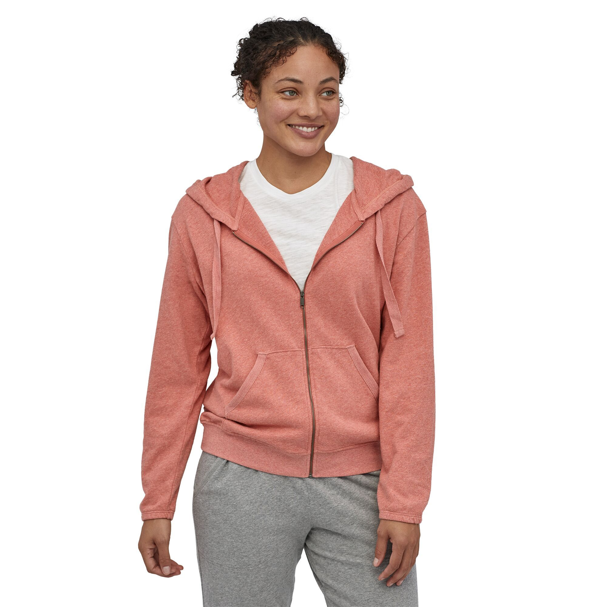 Patagonia - Patagonia W's Organic Cotton French Terry Hoody - Weekendbee - sustainable sportswear