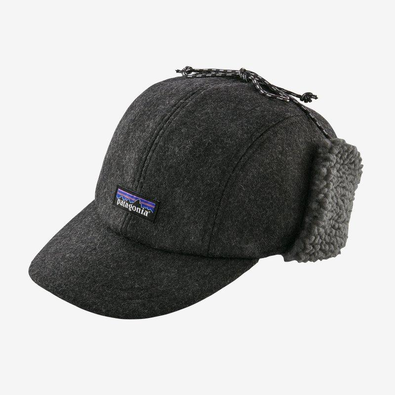 Patagonia - Patagonia's Recycled Wool Ear Flap Cap - Weekendbee - sustainable sportswear