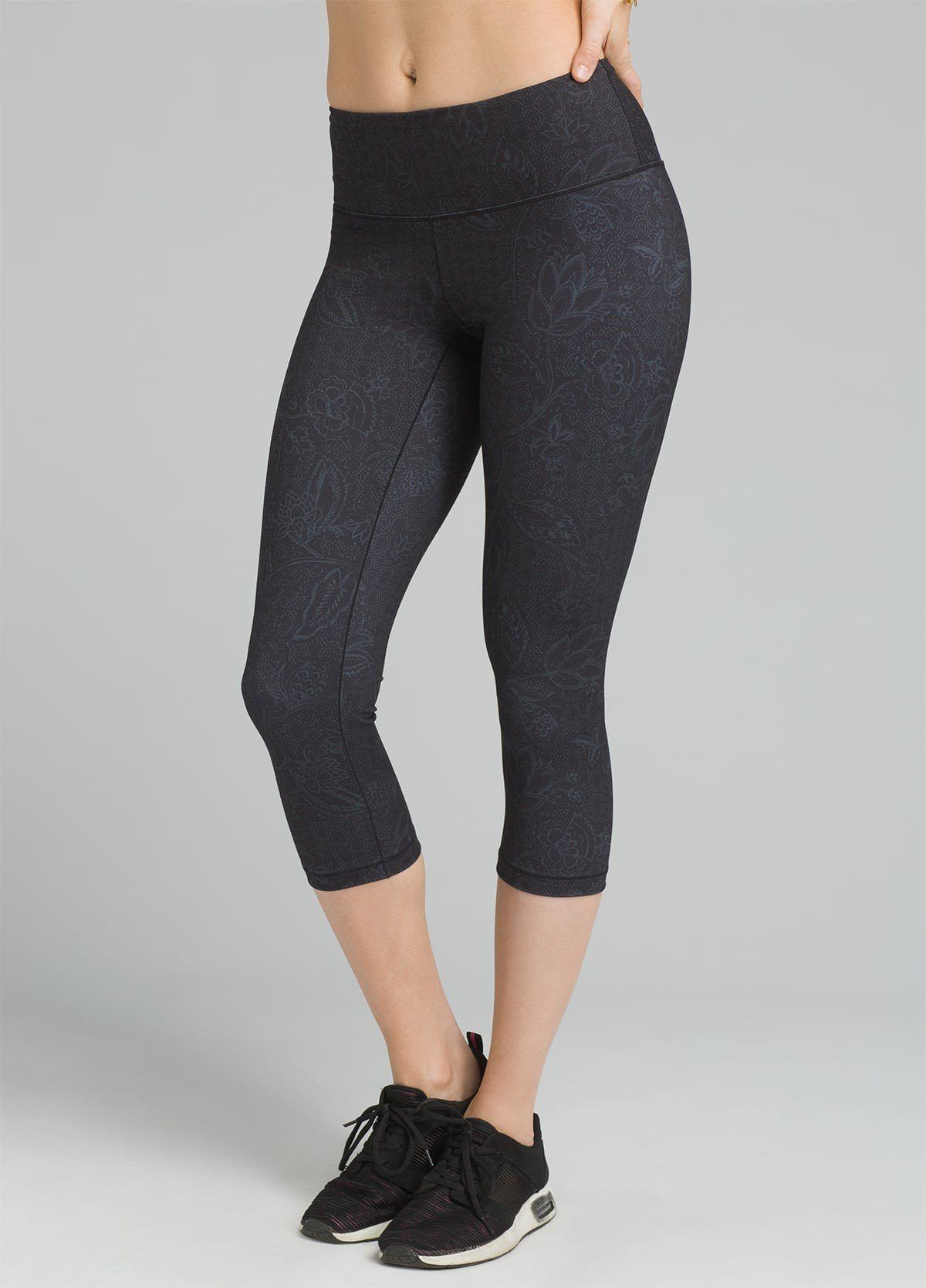 PrAna - Pillar Printed Capri - Recycled Polyester - Weekendbee - sustainable sportswear