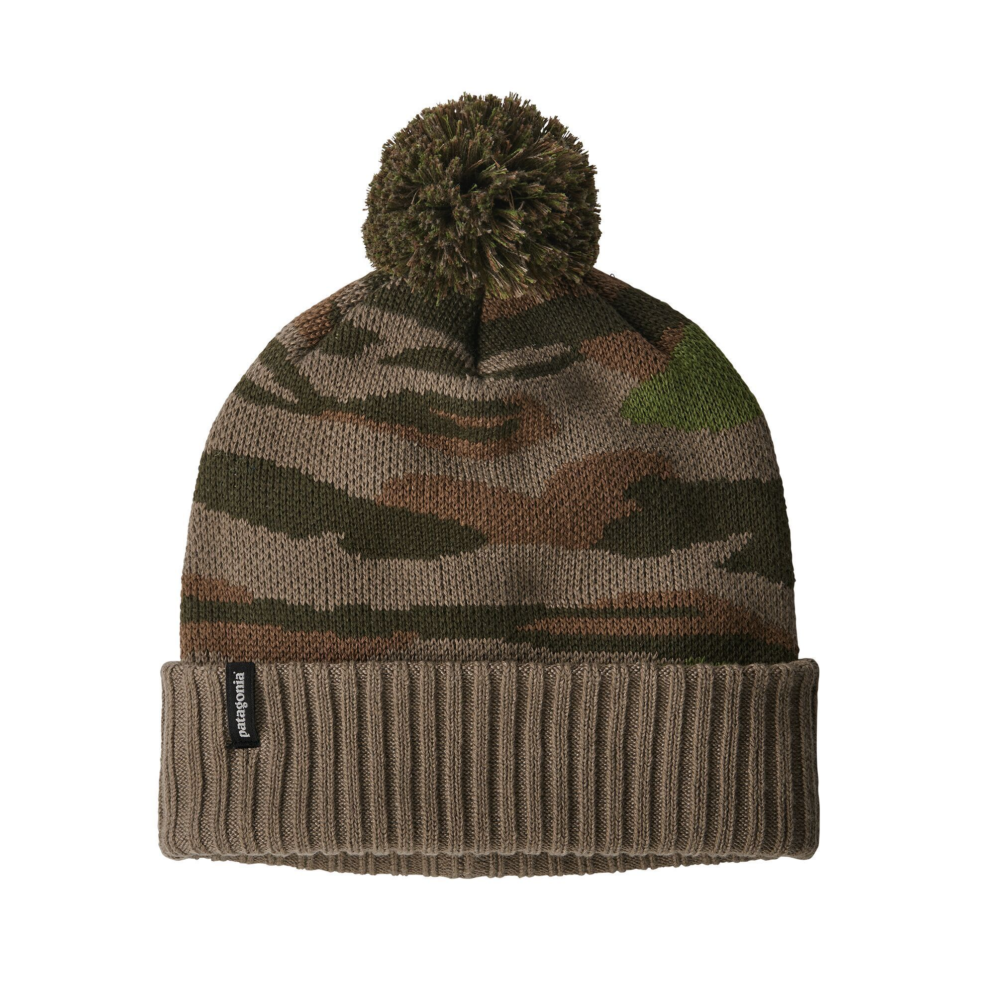 Patagonia - Powder Town Beanie -100% Recycled Polyester - Weekendbee - sustainable sportswear