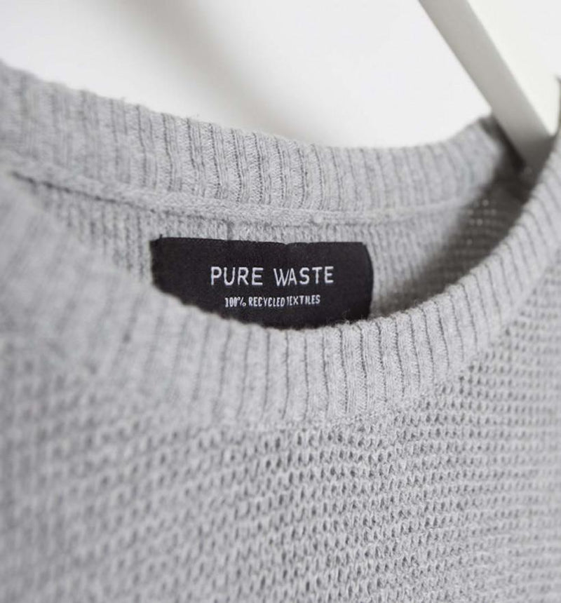 Pure Waste - Men's Waffle Knit - 100% Recycled Materials - Weekendbee - sustainable sportswear
