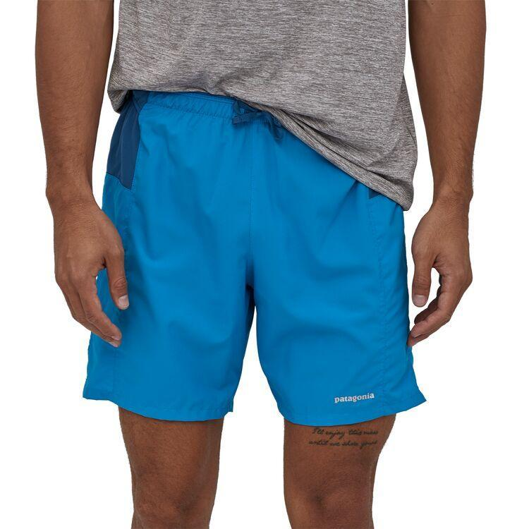 "Patagonia - M's Strider Pro Running Shorts - 7"" - 100% Recycled Polyester - Weekendbee - sustainable sportswear"