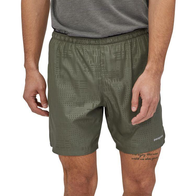"Patagonia - M's Strider Running Shorts - 7"" - Recycled Polyester - Weekendbee - sustainable sportswear"