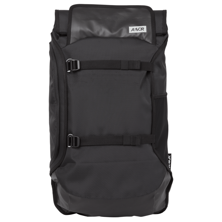 Aevor - Travelpack Proof Black - Made from recycled PET-bottles - Weekendbee - sustainable sportswear