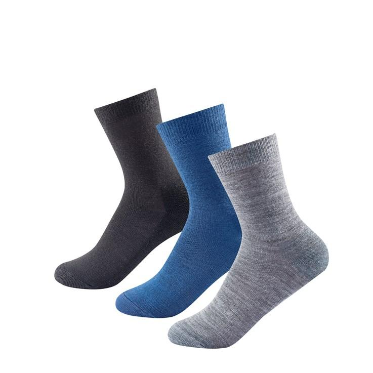 Devold - Unisex Daily Light Sock 3PK - Merino Wool - Weekendbee - sustainable sportswear