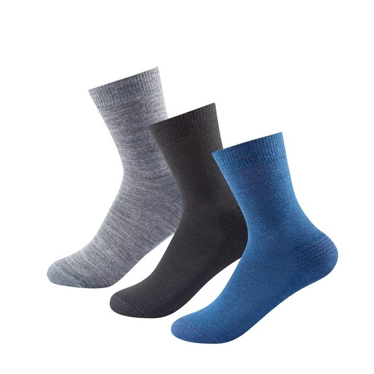 Devold - Unisex Daily Medium Sock 3PK - Merino Wool - Weekendbee - sustainable sportswear