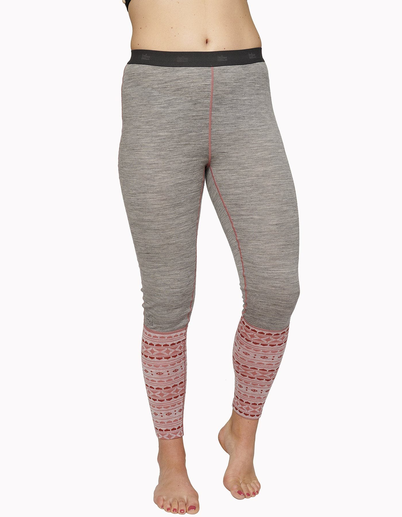 Varg - Women's Blanktjärn Wool Pant - Winter Grey/Dalarna - Merino Wool - Weekendbee - sustainable sportswear