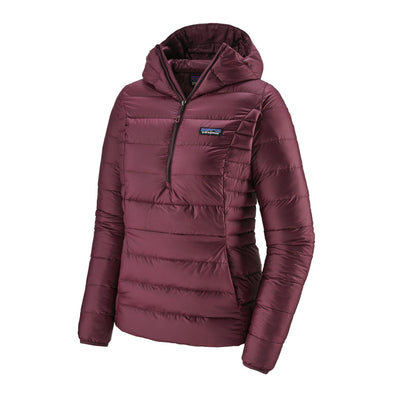 Patagonia - Women's Down Sweater Hoody Pullover - Ethical Down - Weekendbee - sustainable sportswear