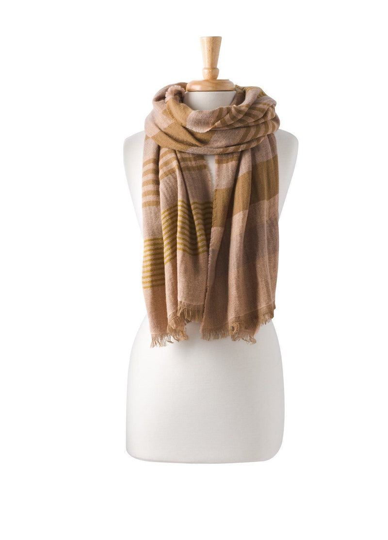 PrAna - Women's Flora Scarf -  40 % Wool - Weekendbee - sustainable sportswear