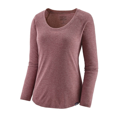 Patagonia - Women's Long-Sleeved Capilene® Cool Trail Shirt - Recycled Polyester - Weekendbee - sustainable sportswear