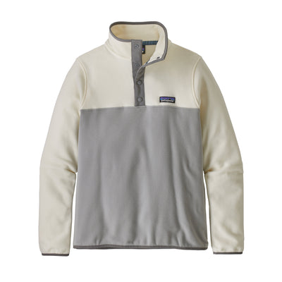 Patagonia - W's Micro D® Snap-T® Fleece Pullover - Recycled Polyester - Weekendbee - sustainable sportswear