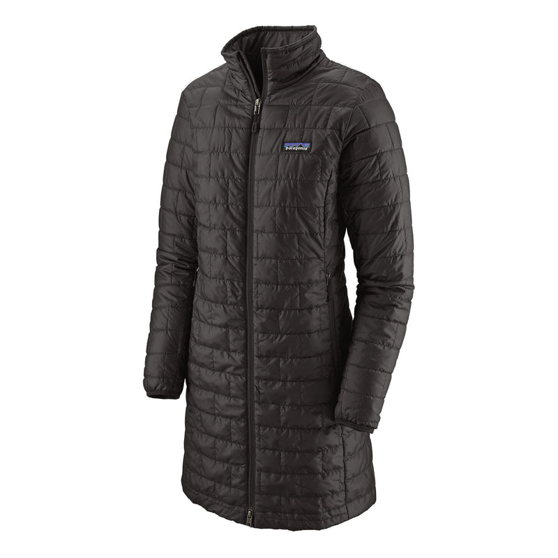 Patagonia - Women's Nano Puff® Parka - Black - Recycled Polyester - Weekendbee - sustainable sportswear