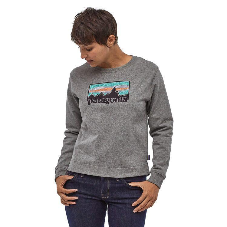 Patagonia - W's Solar Rays '73 Uprisal Crew Sweatshirt - Recycled cotton / Recycled polyester - Weekendbee - sustainable sportswear