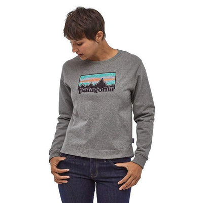 Patagonia - Women's Solar Rays '73 Uprisal Crew Sweatshirt - Recycled cotton / Recycled polyester - Weekendbee - sustainable sportswear